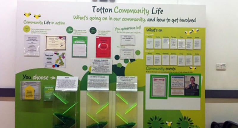 Asda Totton Community Life Project