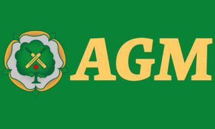 CALMORE SPORTS CLUB AGM – Thursday 25 February 2021
