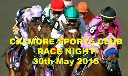 Race Night – Saturday 30th May