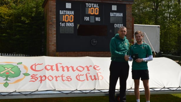 1st XI – Mossy Steers Us Home
