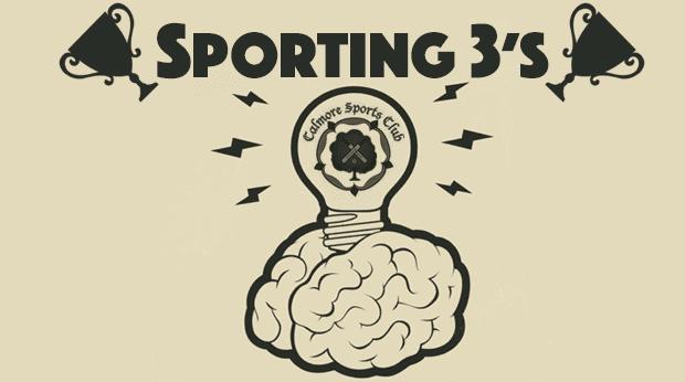 Sporting 3's – Sports Quiz