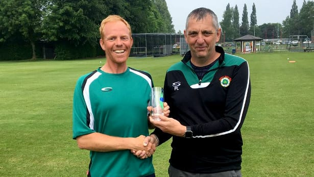 Mike West – 100 SPL games for Calmore Sports