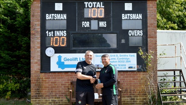 Darren Vann – 100 SPCL matches for Calmore Sports