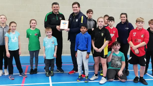 Calmore Sports receives 'Five Star' All-Stars Award