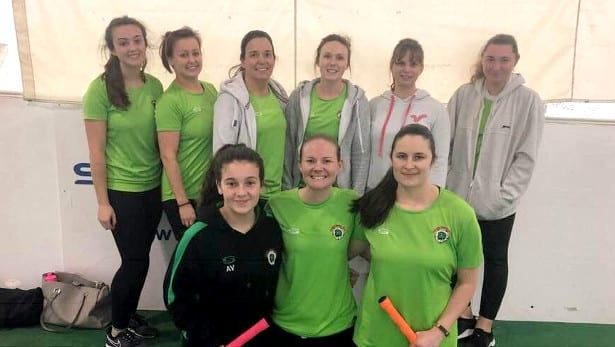 Calmore Ladies runners-up in Indoor W10