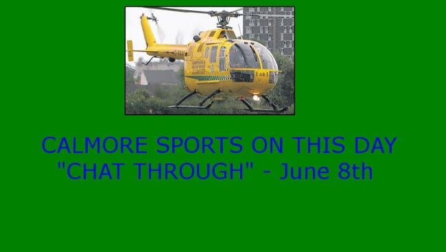 """ON THIS DAY """"CHAT THROUGH"""" – June 8th"""