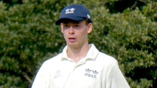 BEN FISHER MAKES FIRST-CLASS DEBUT in VARSITY CLASH