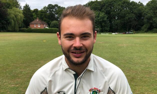 Matty guides Calmore into County NVKO Final